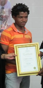 Sithembiso Gumede qualified as a Markets of Warwick tour guide.