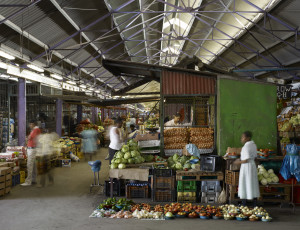 Early Morning Market image taken by Dennis Gilbert