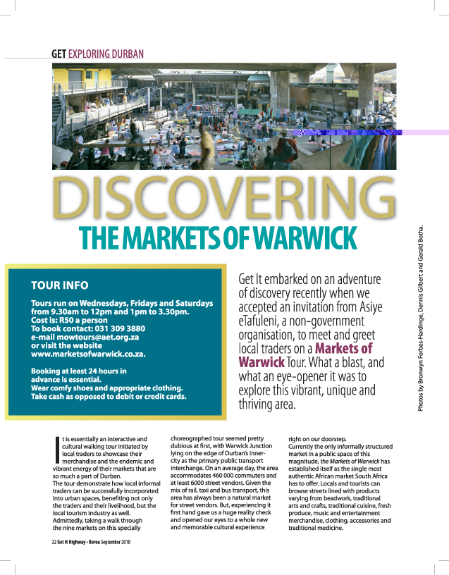Discovering the Markets of Warwick | Get It magazine