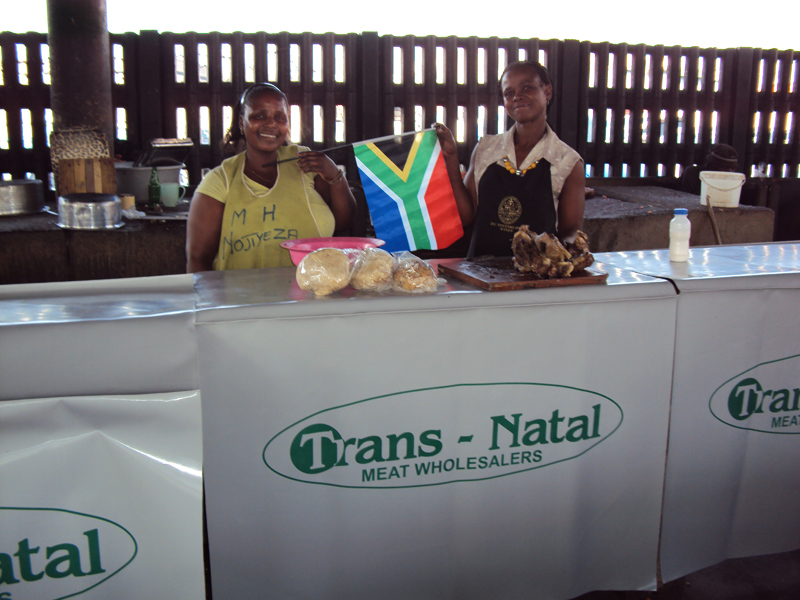Equipments sponsorships e.g. Table Cloths and Aprons
