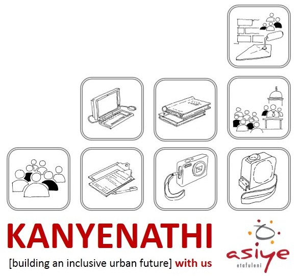 The Kanyenathi Project activities and processes symbolically represented. Sketches: Richard Dobson.