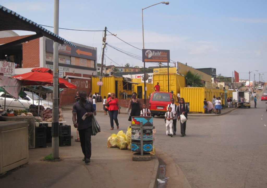 The informal economy district of Bester. Photo: Tasmi Quazi.