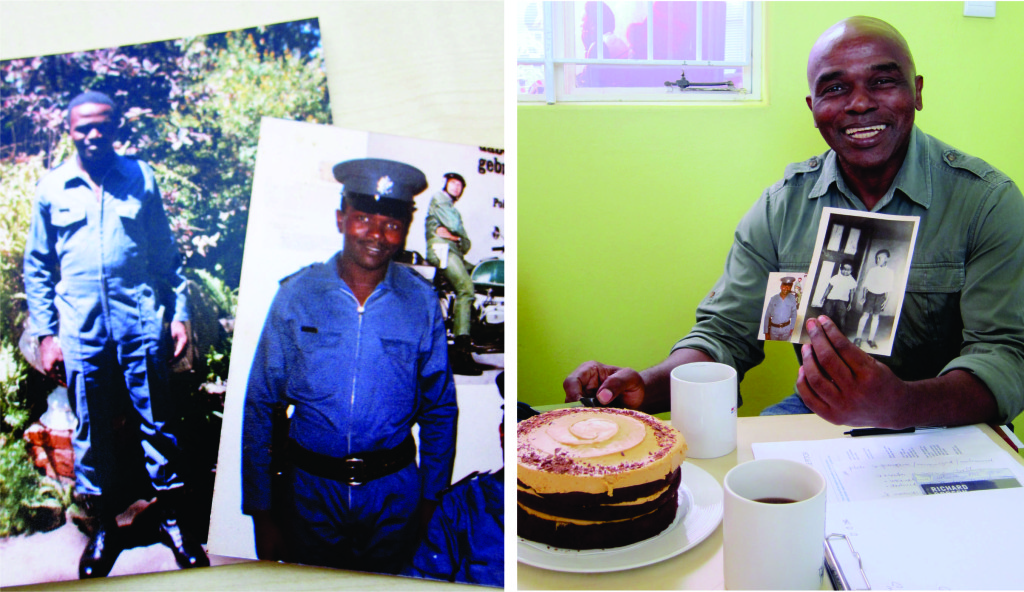 AeT Snr Project Officer Patrick Ndlovu 30 yr Work Anniversary